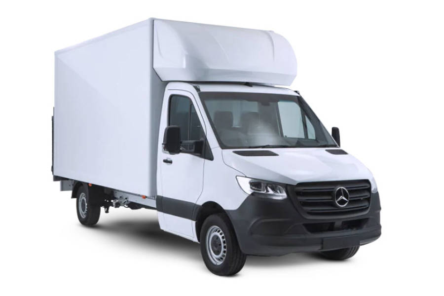 Mercedes Sprinter Luton for sale from Condor Self Drive
