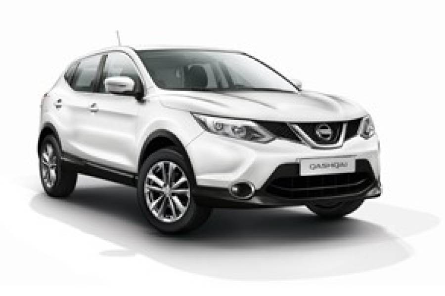 Nissan Quasqai for hire from Condor Self Drive