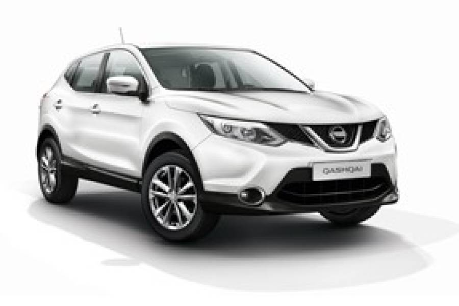 Nissan Qashqai N-tec for hire from Condor Self Drive