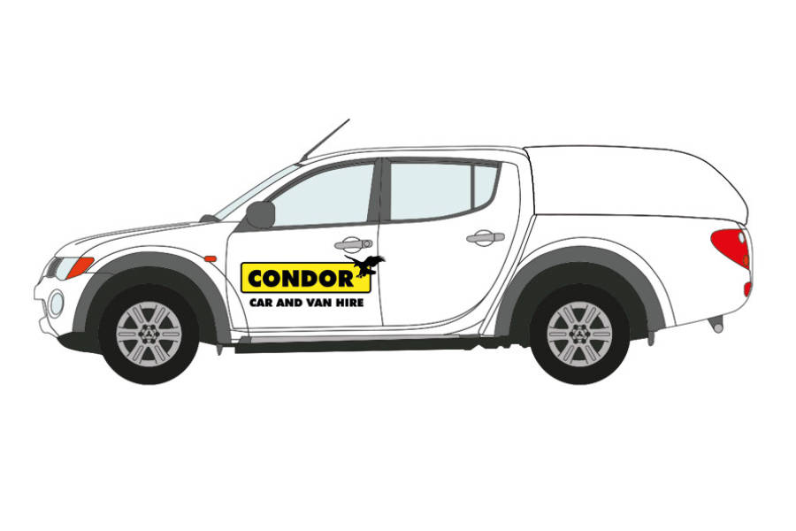 Toyota Hi-lux for hire from Condor Self Drive