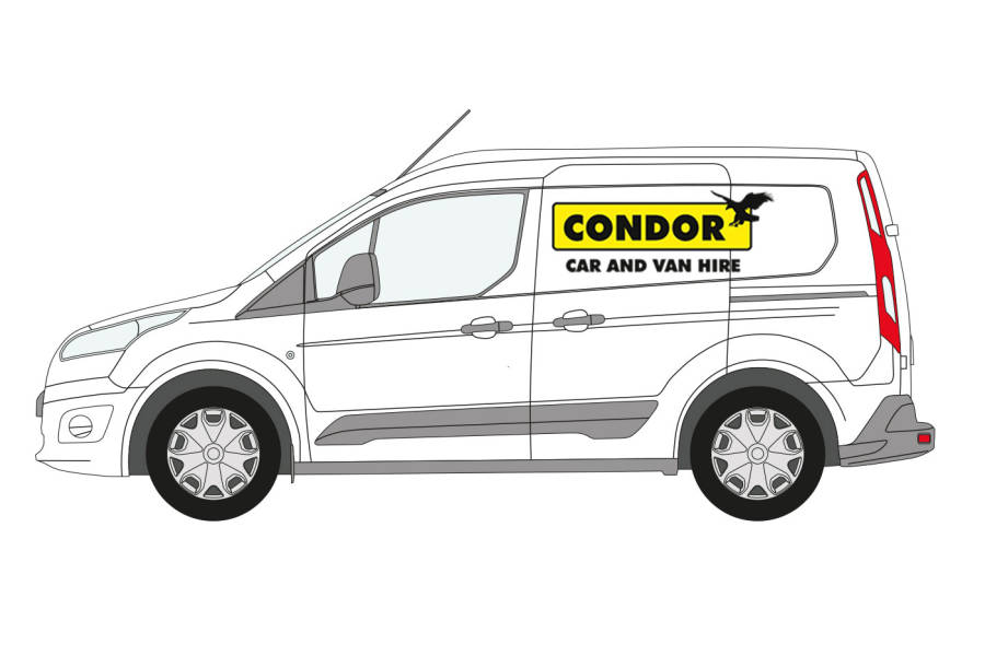 Ford Connect from Condor Self Drive